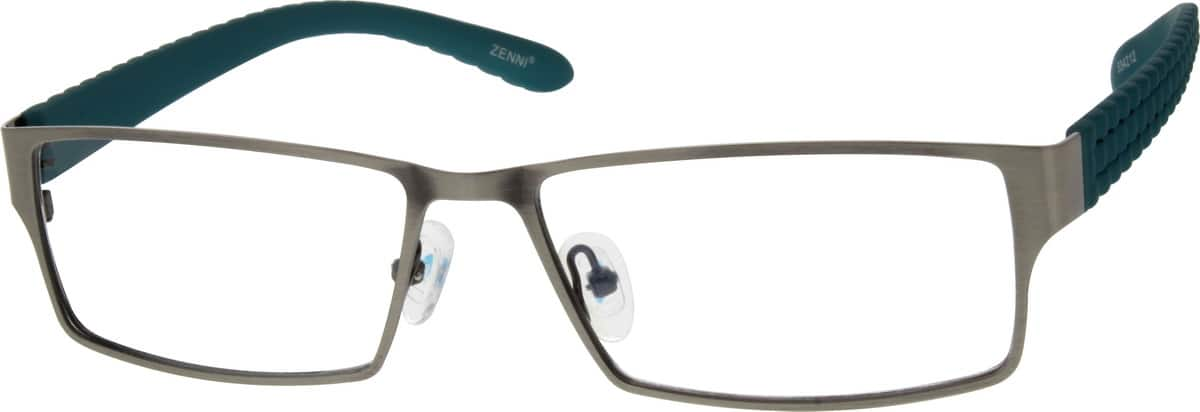 Men Full Rim Mixed Materials Eyeglasses #534215