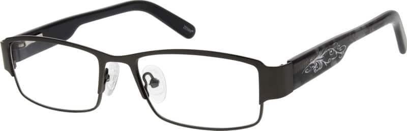 MenFull RimMixed MaterialsEyeglasses #534515