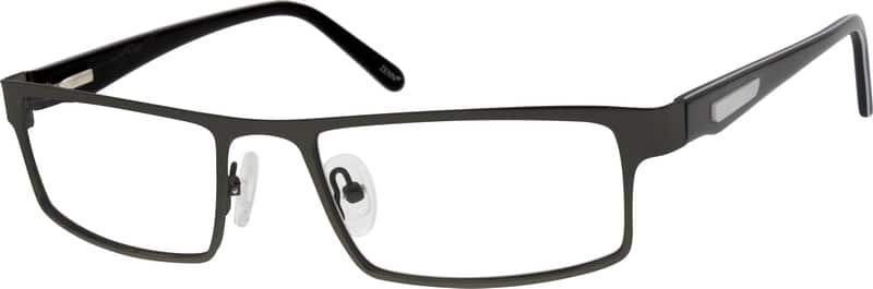 Men Full Rim Mixed Materials Eyeglasses #534611