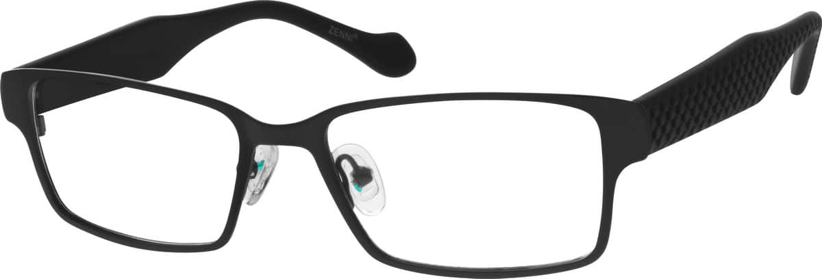 Men Full Rim Mixed Materials Eyeglasses #534715
