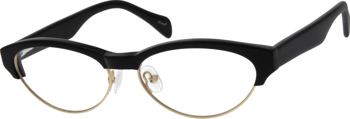 WomenFull RimMixed MaterialsEyeglasses #534821