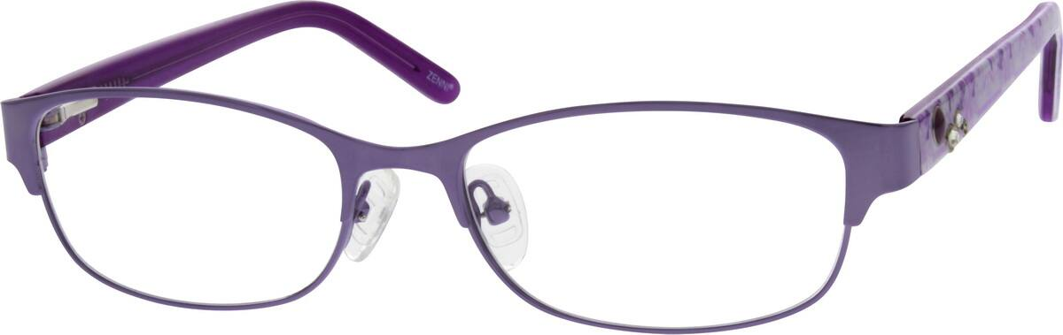 Women Full Rim Mixed Materials Eyeglasses #535315