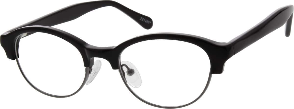 WomenFull RimMixed MaterialsEyeglasses #535521