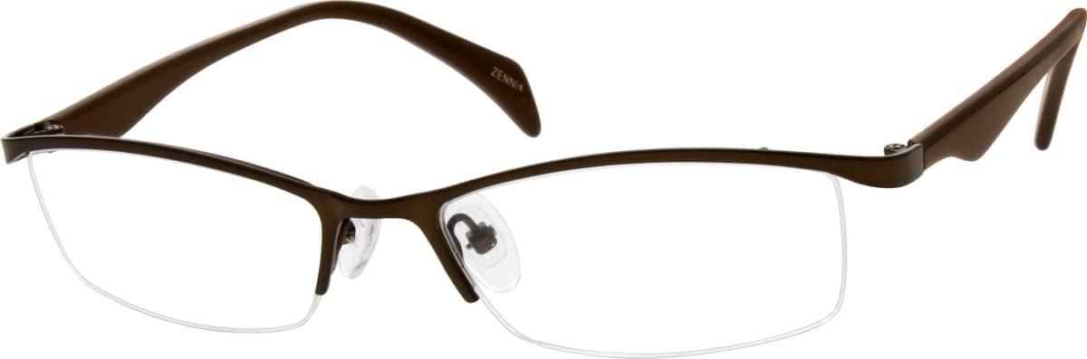 MenHalf RimMixed MaterialsEyeglasses #535721