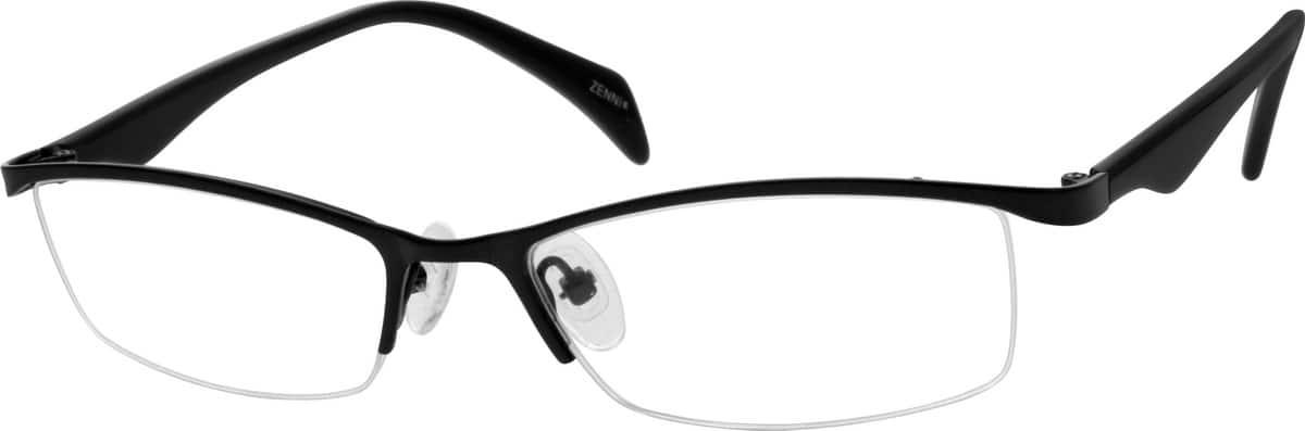 MenHalf RimMixed MaterialsEyeglasses #535715