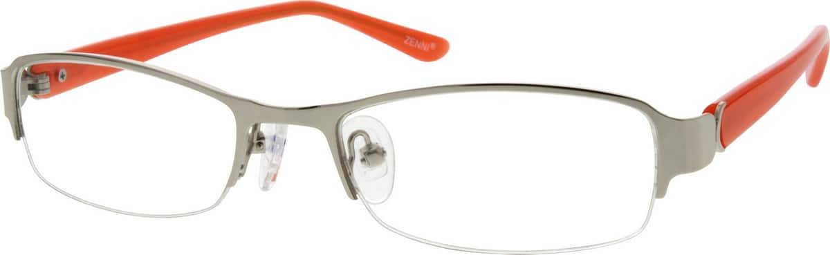 535811-stainless-steel-half-rim-frame-with-acetate-temples