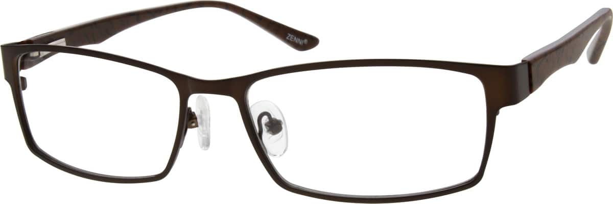 MenFull RimMixed MaterialsEyeglasses #536115