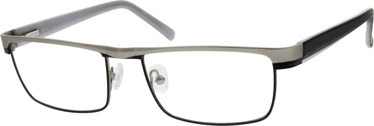 MenFull RimMixed MaterialsEyeglasses #536215