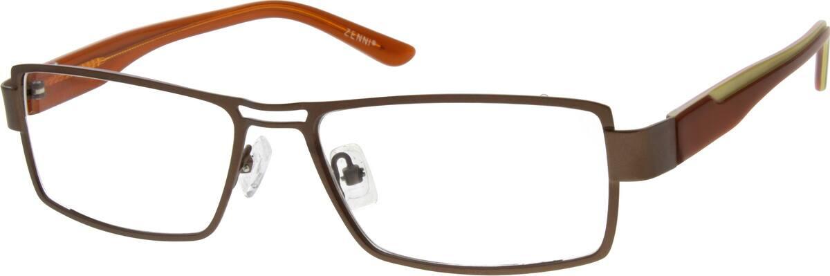MenFull RimMixed MaterialsEyeglasses #536415