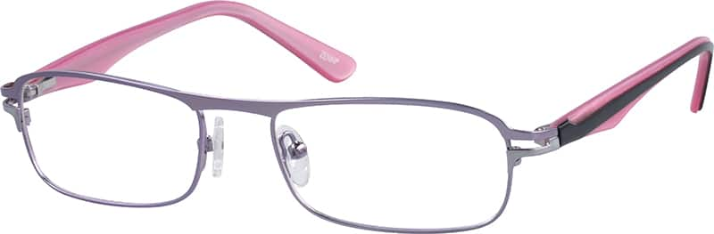 Women Full Rim Mixed Materials Eyeglasses #537217