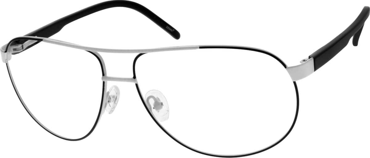 Men Full Rim Mixed Materials Eyeglasses #537430