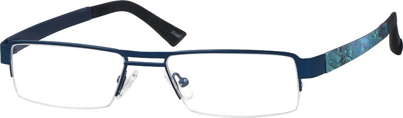 537516-stainless-steel-half-rim-frame-with-plastic-temples