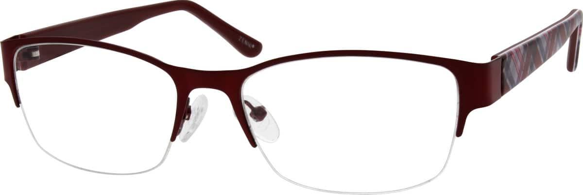 WomenHalf RimMixed MaterialsEyeglasses #537816