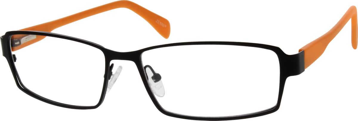 Men Full Rim Mixed Materials Eyeglasses #538321