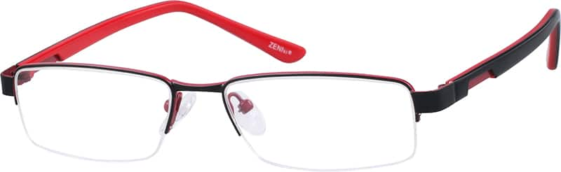 WomenHalf RimMixed MaterialsEyeglasses #538515