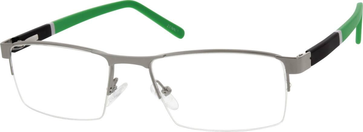 MenHalf RimMixed MaterialsEyeglasses #538821