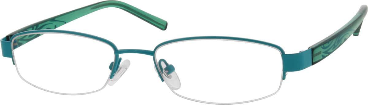UnisexHalf RimMixed MaterialsEyeglasses #539024