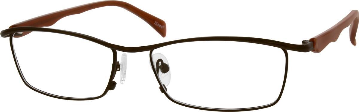 MenFull RimMixed MaterialsEyeglasses #539316
