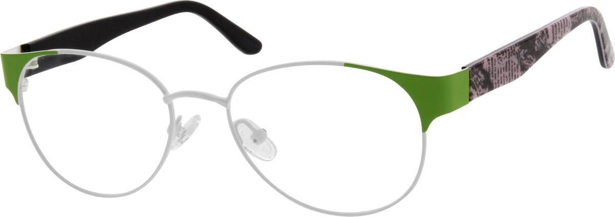 WomenFull RimMixed MaterialsEyeglasses #539530