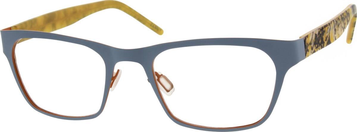 UnisexFull RimMixed MaterialsEyeglasses #539812