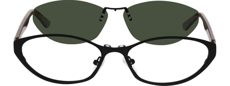 WomenFull RimMixed MaterialsEyeglasses #540115