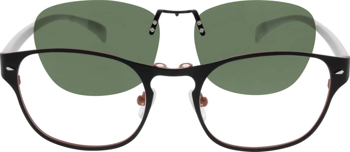 WomenFull RimMixed MaterialsEyeglasses #540821