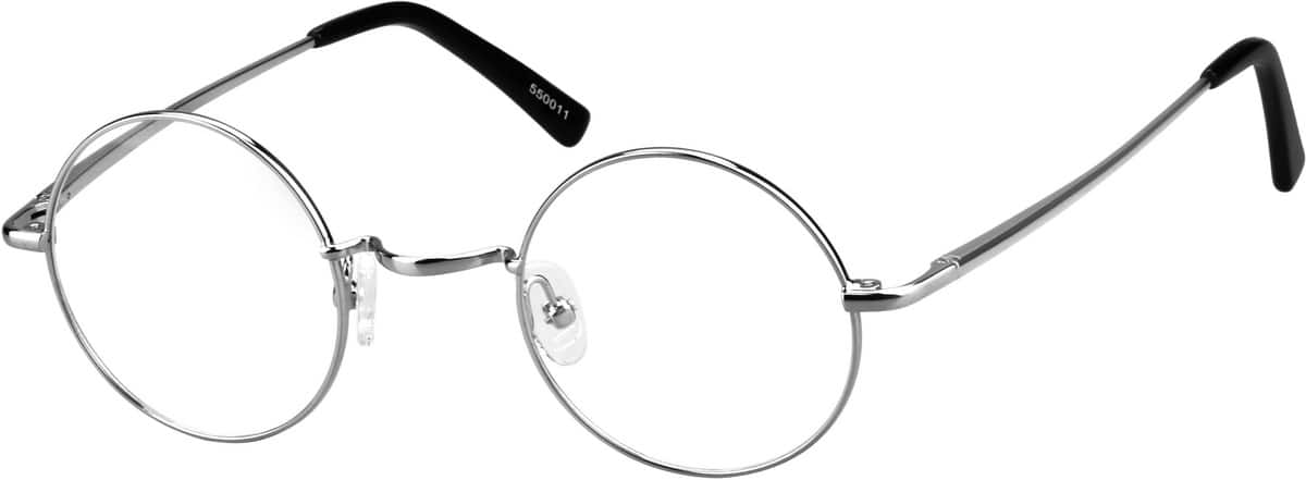 Men Full Rim Metal Eyeglasses #550011