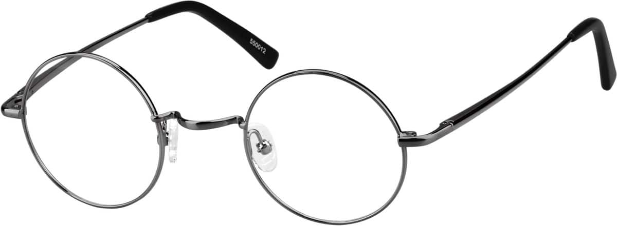 Unisex Full Rim Metal Eyeglasses #550021