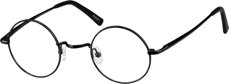 Metal Alloy Round Eyeglasses