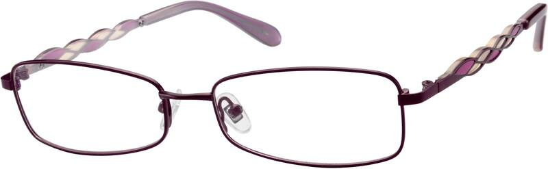 Women Full Rim Metal Eyeglasses #551024