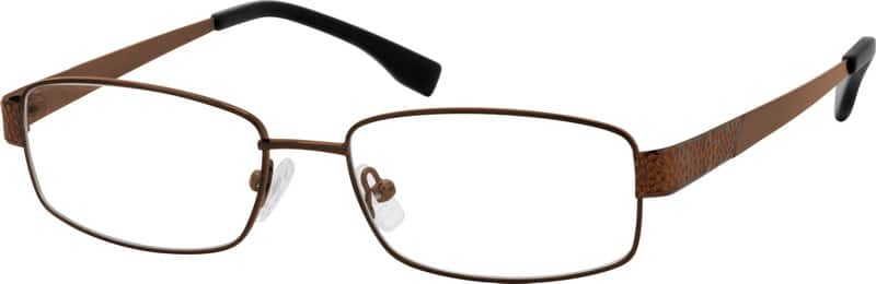 Men Full Rim Metal Eyeglasses #552415