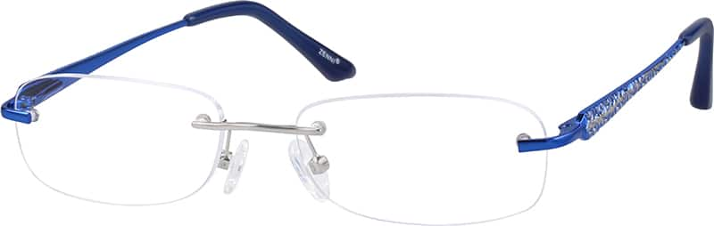 Women Rimless Stainless Steel Eyeglasses #553619