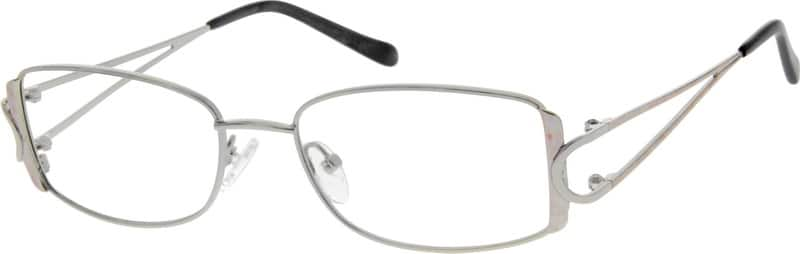 Women Full Rim Metal Eyeglasses #554111