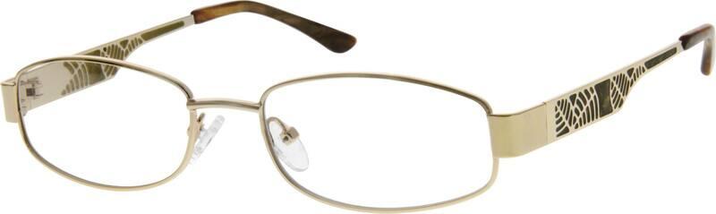 UnisexFull RimStainless SteelEyeglasses #554311