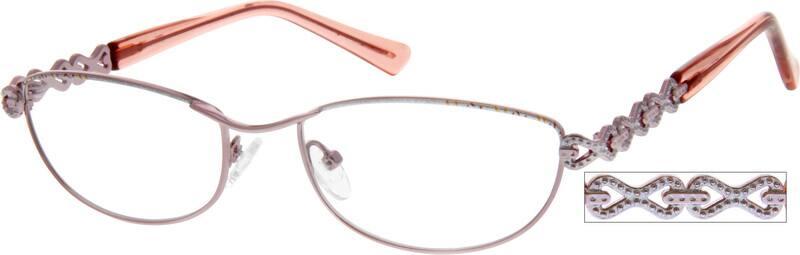 WomenFull RimMetalEyeglasses #554411