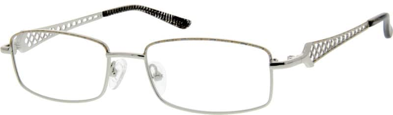 Unisex Full Rim Metal Eyeglasses #554611