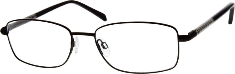 Men Full Rim Metal Eyeglasses #554812