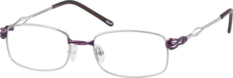 Women Full Rim Metal Eyeglasses #555811