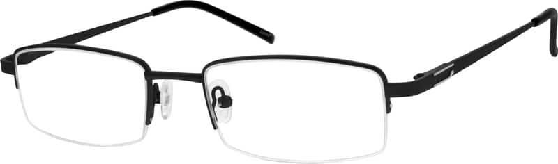MenHalf RimMetalEyeglasses #556612