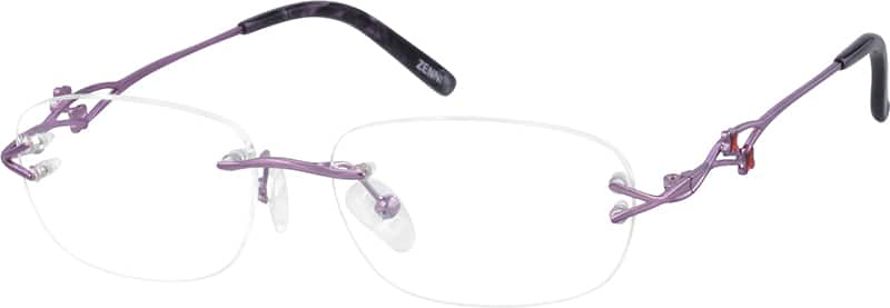 557017-rimless-metal-frame-with-designer-temples