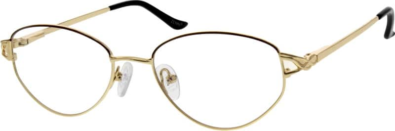 Women Full Rim Metal Eyeglasses #557614