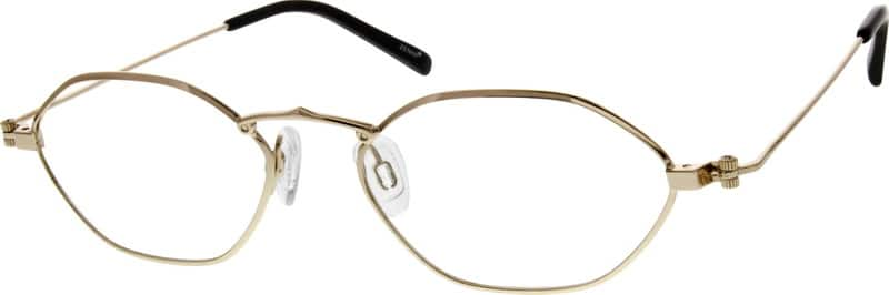 Women Full Rim Metal Eyeglasses #559014