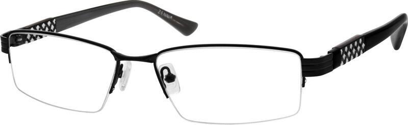 MenHalf RimMetalEyeglasses #559215