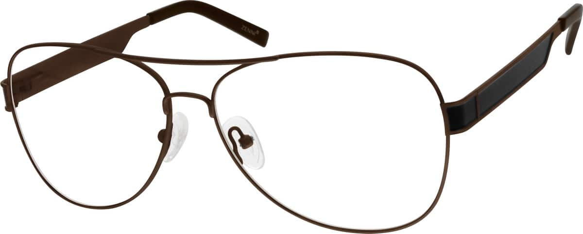 Men Full Rim Stainless Steel Eyeglasses #559615