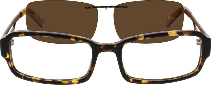 MenFull RimMixed MaterialsEyeglasses #560025