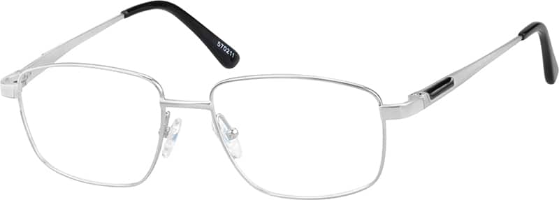 Pure Titanium Full-Rim Frame With Spring Hinges