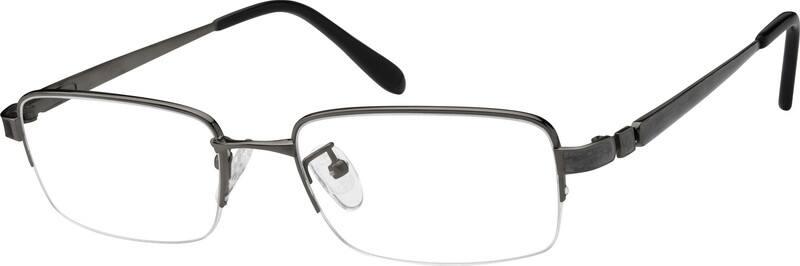MenHalf RimTitaniumEyeglasses #576111
