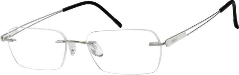 Women Rimless Titanium Eyeglasses #576618