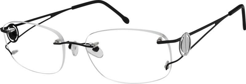 UnisexRimlessTitaniumEyeglasses #576721