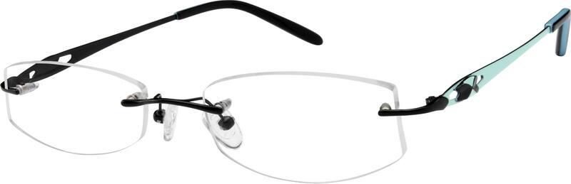 WomenRimlessTitaniumEyeglasses #577115